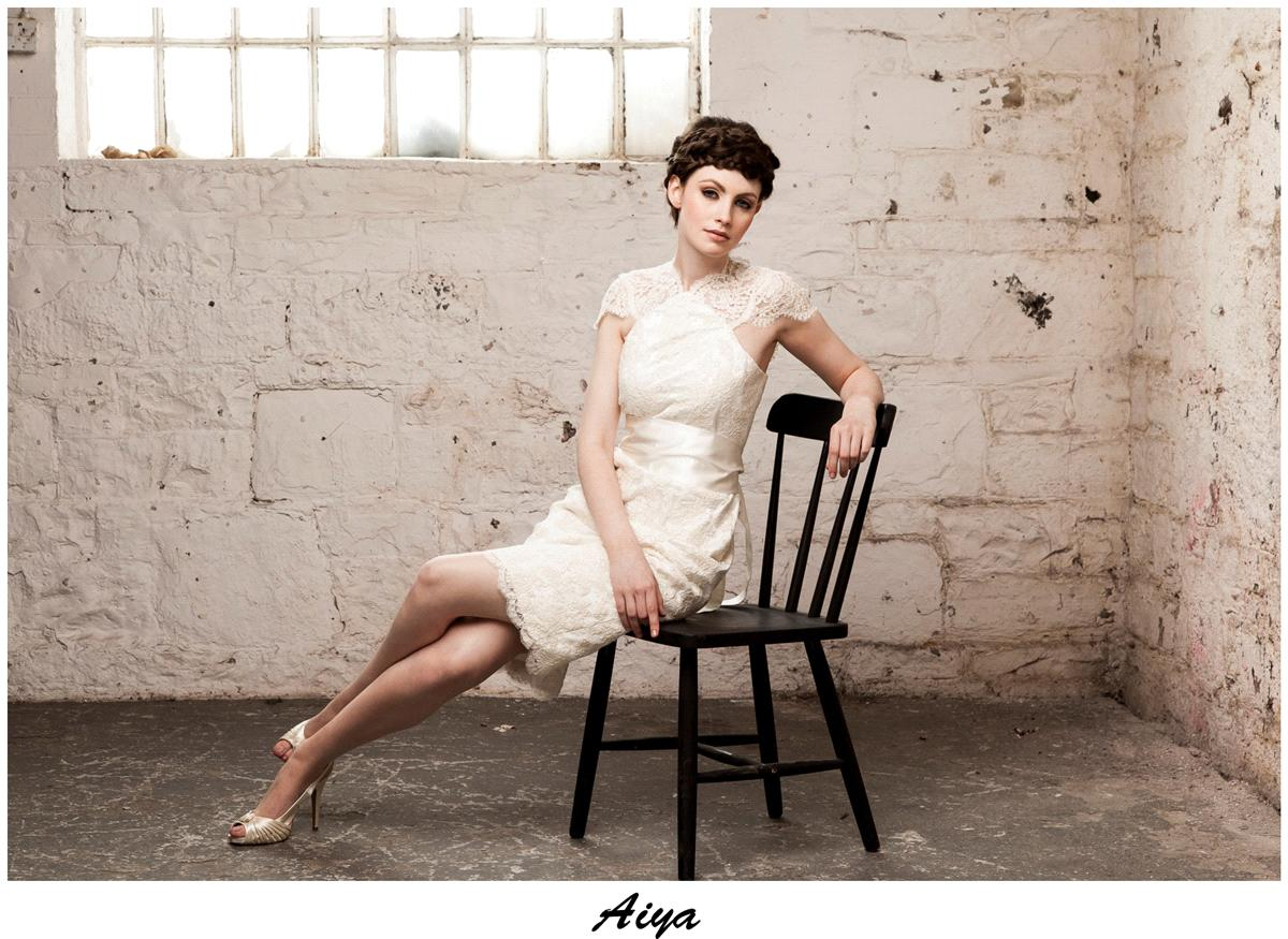 Bridal Dresses, Claire O'Connor's _W_ collection: Aiya wedding dress.