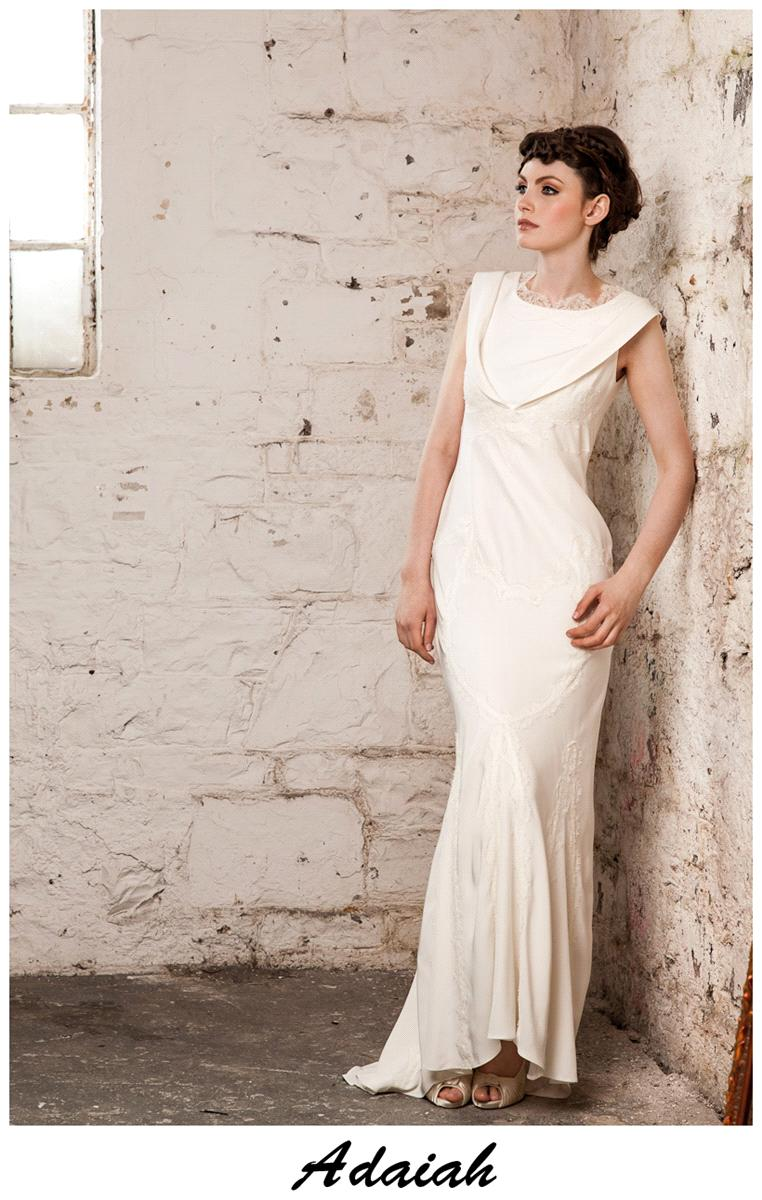 Bridal Dresses, Claire O'Connor's _W_ collection: Adaiah wedding dress.