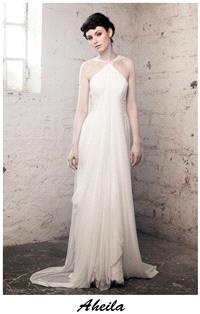 Bridal Dresses. Claire O'Connor's _W_ collection: Aheila wedding dress.