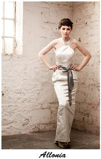 Bridal Dresses. Claire O'Connor's _W_ collection: Allonia wedding dress.