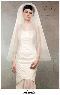 Bridal Dresses. Claire O'Connor's _W_ collection: Adrie wedding dress.