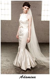 Bridal Dresses. Claire O'Connor's _W_ collection: Adamina wedding dress.