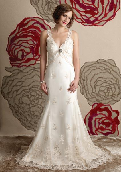Bridal Dresses, Anne Gregory Sive wedding dress.