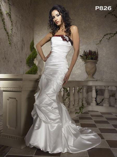 Bridal Dresses, Anne Gregory wedding dress (Ref. P826F).