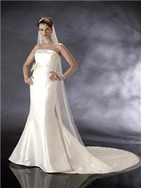 Bridal Dresses. Medicia wedding dress. This strapless dress is an award winning design, simple but e