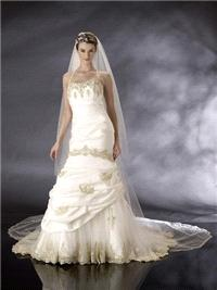 Bridal Dresses. Victoria Gold wedding dress.