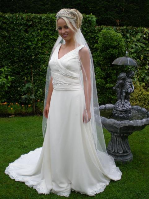 Bridal Dresses, Violet wedding dress. All dresses are hand-crafted and made to measure for each indi