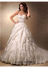 Bridal Dresses. Maggie Sottero Fallon wedding dress.