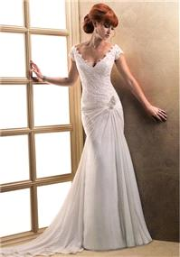 Bridal Dresses. Maggie Sottero Blossom wedding dress.