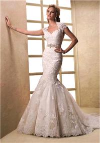 Bridal Dresses. Maggie Sottero Elliana wedding dress.