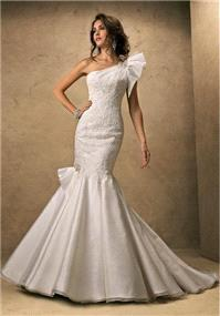 Bridal Dresses. Maggie Sottero Evita wedding dress.
