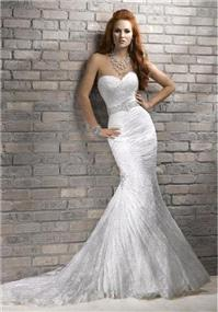 Bridal Dresses. Maggie Sottero Arabella wedding dress.