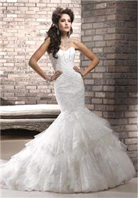 Bridal Dresses. Maggie Sottero Adalee wedding dress.