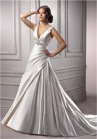 Bridal Dresses. Maggie Sottero Maude wedding dress.