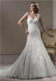 Bridal Dresses. Maggie Sottero Beatrice wedding dress.