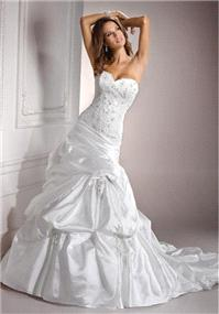 Bridal Dresses. Maggie Sottero Casey wedding dress.