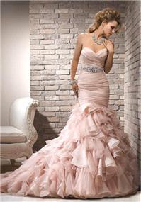 Bridal Dresses. Maggie Sottero Divina wedding dress.