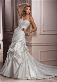 Bridal Dresses. Maggie Sottero Parisianna wedding dress.