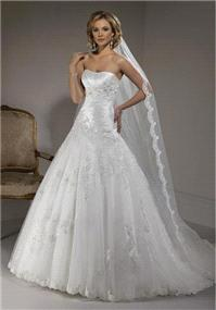 Bridal Dresses. Maggie Sottero Primavera wedding dress.