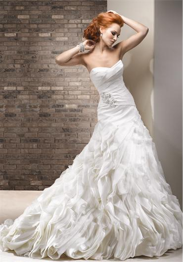 Bridal Dresses, Maggie Sottero Saffron wedding dress.