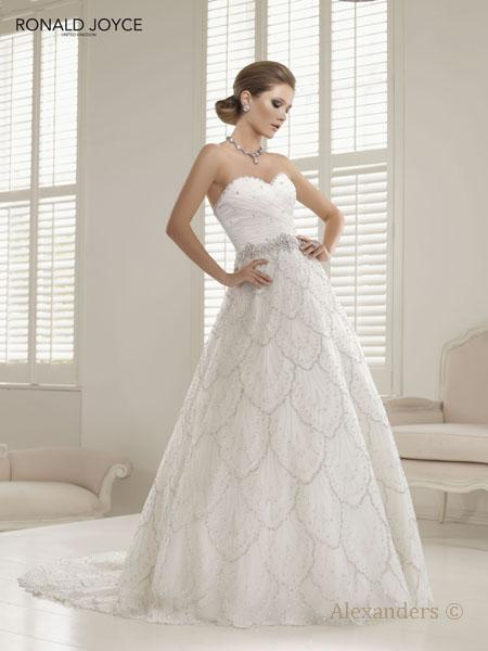 Bridal Dresses, Ronald Joyce Phedra wedding dress.
