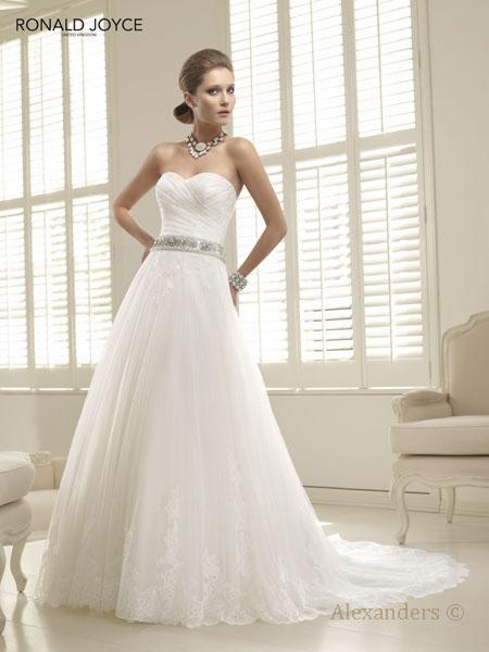 Bridal Dresses, Ronald Joyce Pricilla wedding dress.