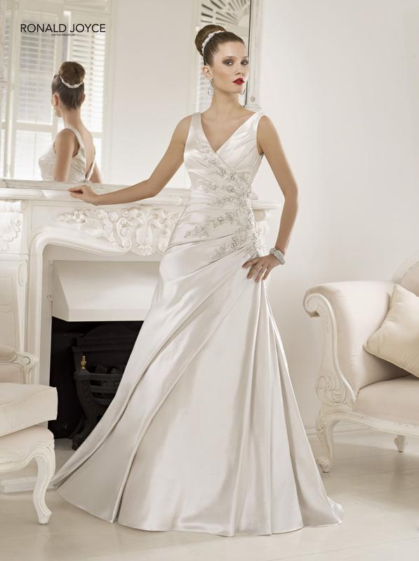 Bridal Dresses, Ronald Joyce Praga wedding dress.