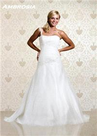 Bridal Dresses. Ambrosia wedding dress. Alteration service available for an additional fee.