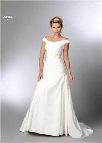 Bridal Dresses. Avril wedding dress. Alteration service available for an additional fee.