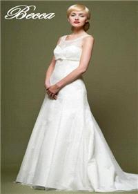 Bridal Dresses. Becca wedding dress. Alteration service available for an additional fee.