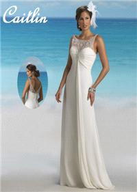 Bridal Dresses. Caitlin wedding dress. Alteration service available for an additional fee.