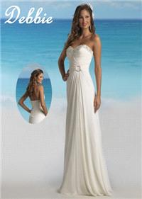 Bridal Dresses. Debbie wedding dress. Alteration service available for an additional fee.
