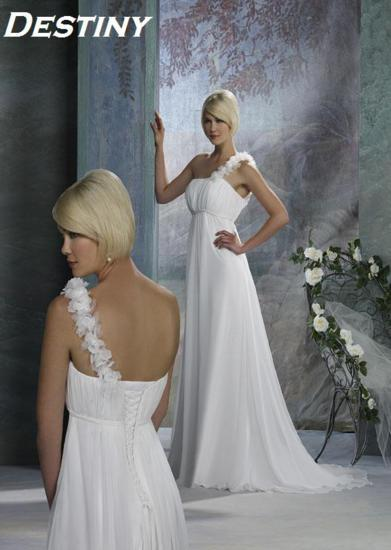 Bridal Dresses, Destiny wedding dress. Alteration service available for an additional fee.