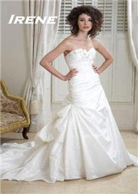 Bridal Dresses. Irene wedding dress. Alteration service available for an additional fee.