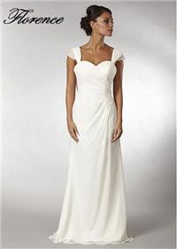 Bridal Dresses. Florence wedding dress. Alteration service available for an additional fee.