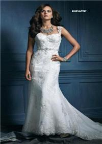 Bridal Dresses. Gracie wedding dress. Alteration service available for an additional fee.