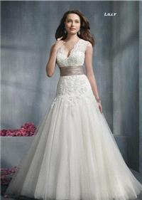 Bridal Dresses. Lilly wedding dress. Alteration service available for an additional fee.