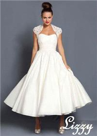 Bridal Dresses. Lizzy wedding dress. Alteration service available for an additional fee.