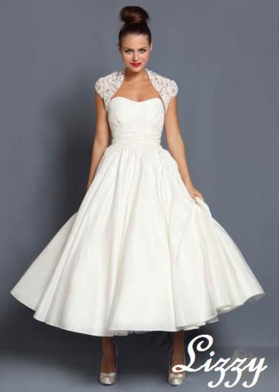 Bridal Dresses, Lizzy wedding dress. Alteration service available for an additional fee.