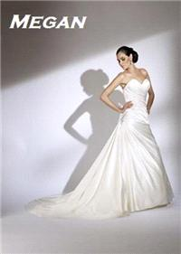 Bridal Dresses. Megan wedding dress. Alteration service available for an additional fee.