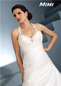 Bridal Dresses. Mimi wedding dress. Alteration service available for an additional fee.