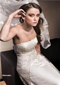 Bridal Dresses. Mirabel wedding dress. Alteration service available for an additional fee.