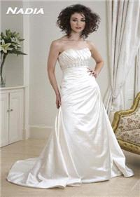Bridal Dresses. Nadia wedding dress. Alteration service available for an additional fee.