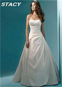 Bridal Dresses. Stacy wedding dress. Alteration service available for an additional fee.