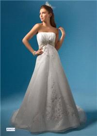Bridal Dresses. Anita wedding dress. Alteration service available for an additional fee.