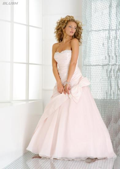 Bridal Dresses, Blush wedding dress. Alteration service available for an additional fee.