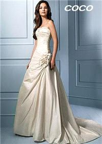 Bridal Dresses. Coco wedding dress. Alteration service available for an additional fee.