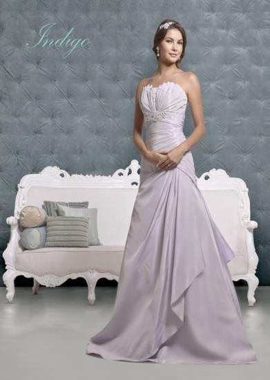 Bridal Dresses, Indigo wedding dress. Alteration service available for an additional fee.