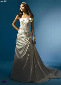 Bridal Dresses. Macy wedding dress. Alteration service available for an additional fee.