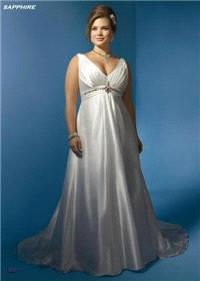 Bridal Dresses. Sapphire wedding dress. Alteration service available for an additional fee.